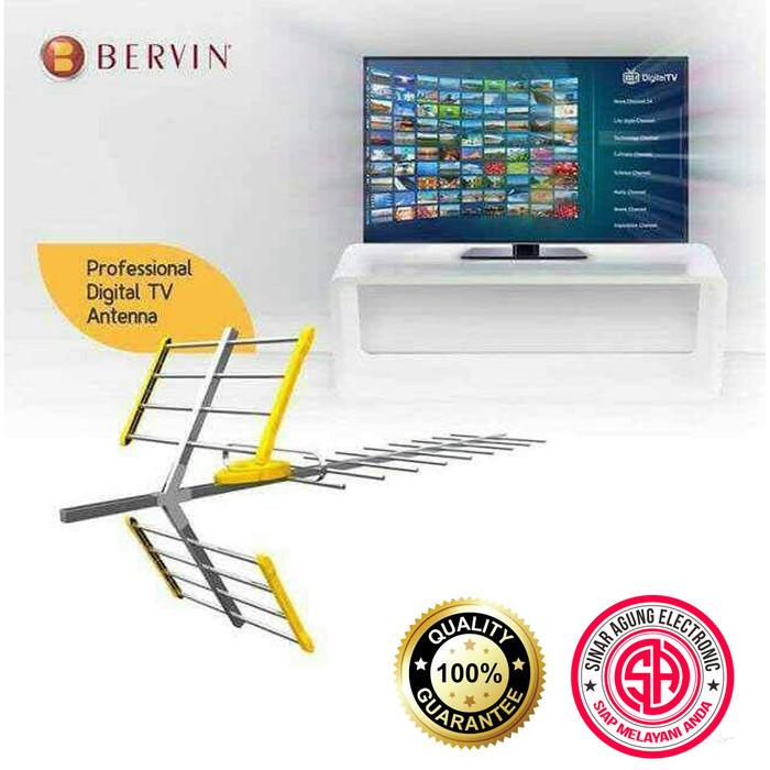 harga Bervin bda-120 digital antena tv untuk led/lcd/plasma [antena digital] Tokopedia.com
