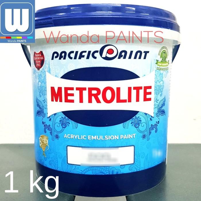 harga Cat tembok metrolite 1 kg putih Tokopedia.com