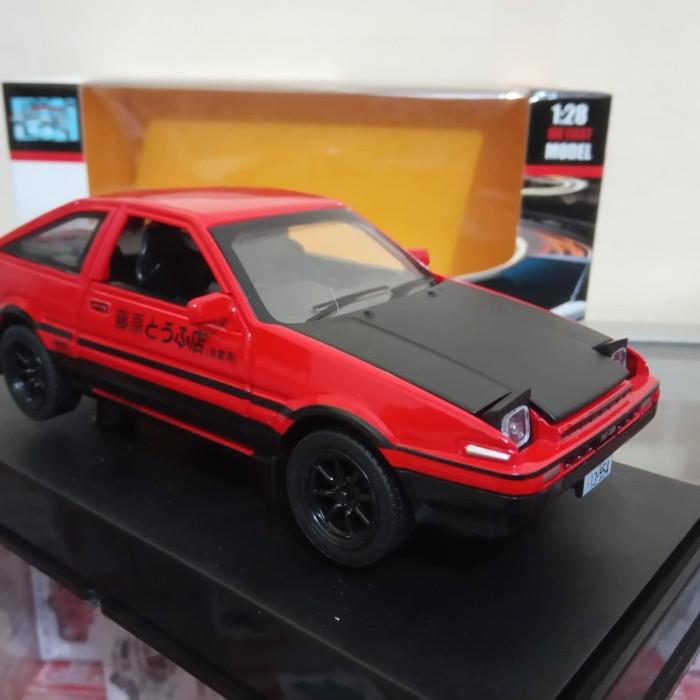 Jual Diecast Trueno Ae86 Initial D Red Black Miniatur Mobil Sport Murah Kab Bekasi Lukman Store Tokopedia