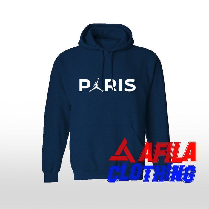 best service 4d810 9a509 Jual Jaket Sweater Hoodie Jordan x PSG - Kota Bandung - AFILA CLOTHING |  Tokopedia