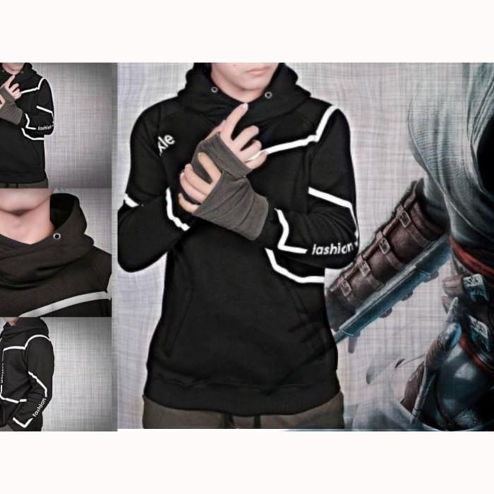Jual Jaket Assassin Creed Hoodie Rog Unity Kota Bandung Kuma