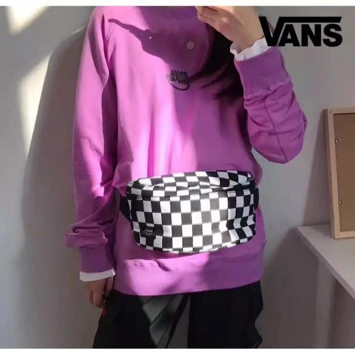 def393e43c6 Waist Bag Vans Original Import / Tas Pinggang Vans / tas selempang