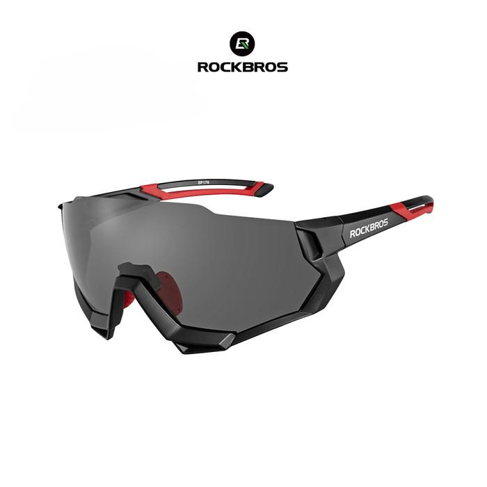 harga Rockbros 10131 polarized sunglasses - kacamata sepeda lari - black Tokopedia.com