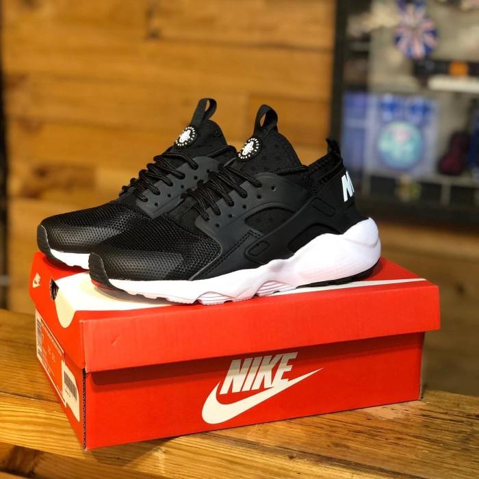Jual Nike huarache bw - Hitam, 36