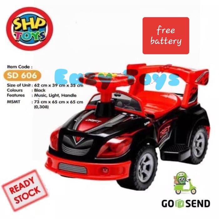 Jual Mainan Anak Mobilan Anak Mobil Dorong Sepeda Anak Shp Toys Sd 606 Jakarta Barat Eazytoys Tokopedia