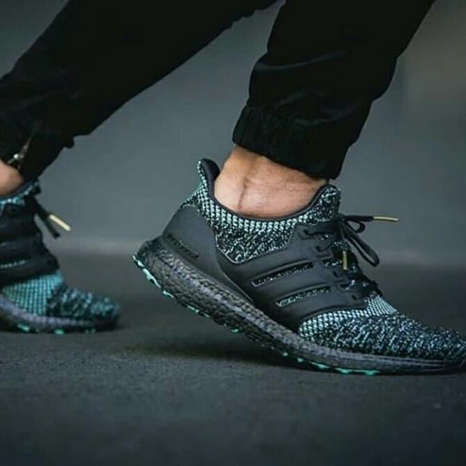 adidas ultra boost 4.0 core black true green off 52% www
