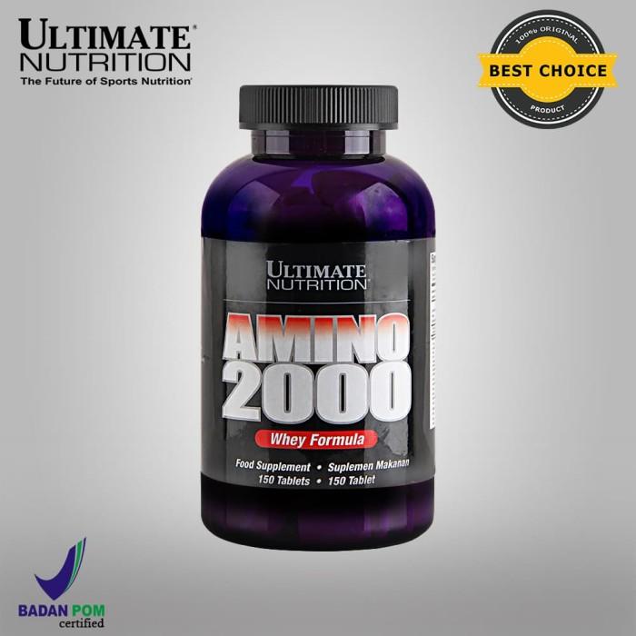 Foto Produk AMINO 2000, 150 Tabs - Ultimate Nutrition Official dari Ultimate Nutrition