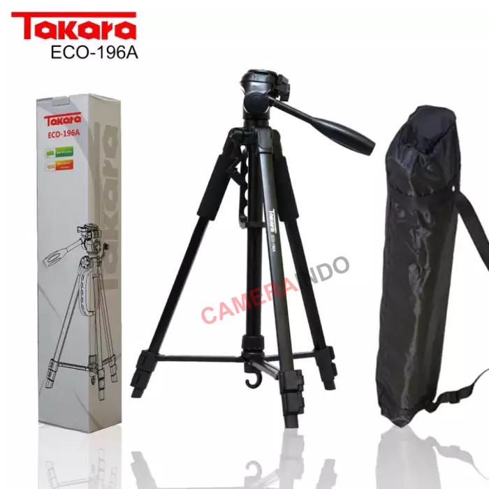 Foto Produk Tripod Takara ECO-196A For kamera Mirroless DSLR Canon Sony Nikon dari cameraindo