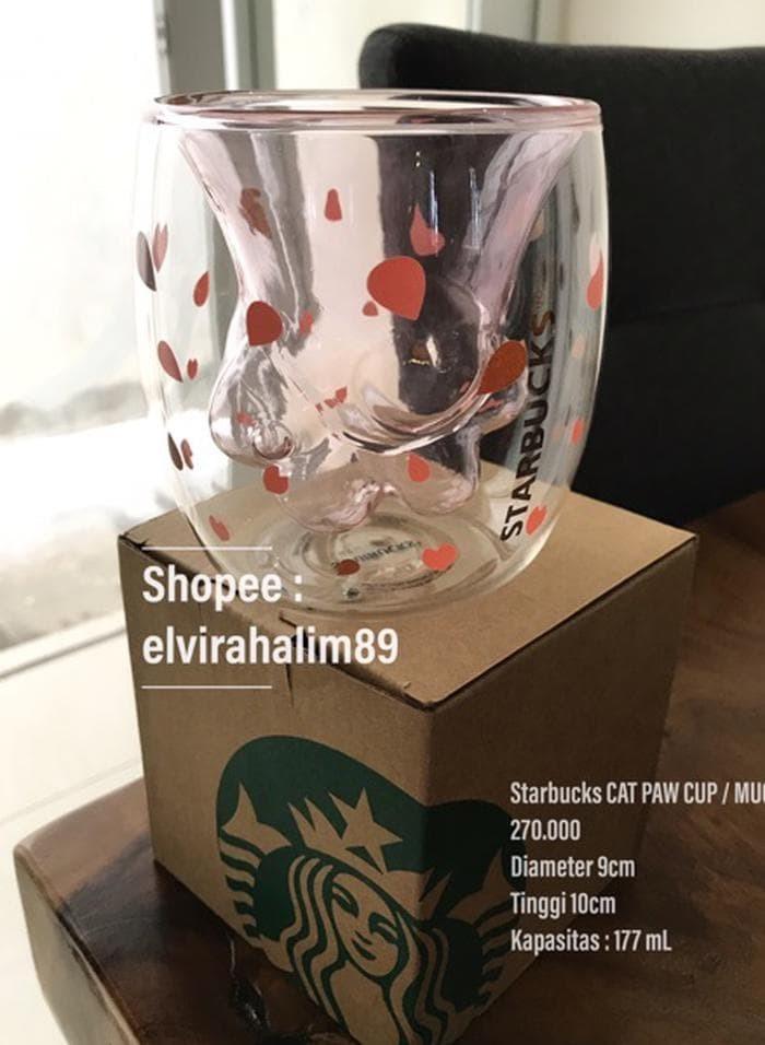 Cat Barat Cup Jakarta Kucing Jual Claw Starbucks ManiiboyTokopedia Paw Mug tQrdsh