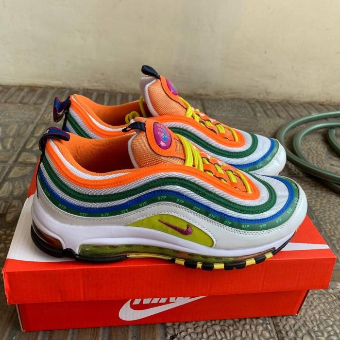 Jual Sepatu Nike Air Max 97 London Summer Of Love Original Premium Jakarta Selatan COGITO STORE   Tokopedia