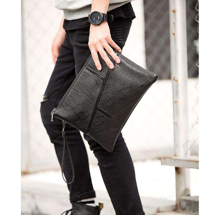Foto Produk Tas Tangan Pria Import - Clutch Pria Import (MVP) dari Leather Concept
