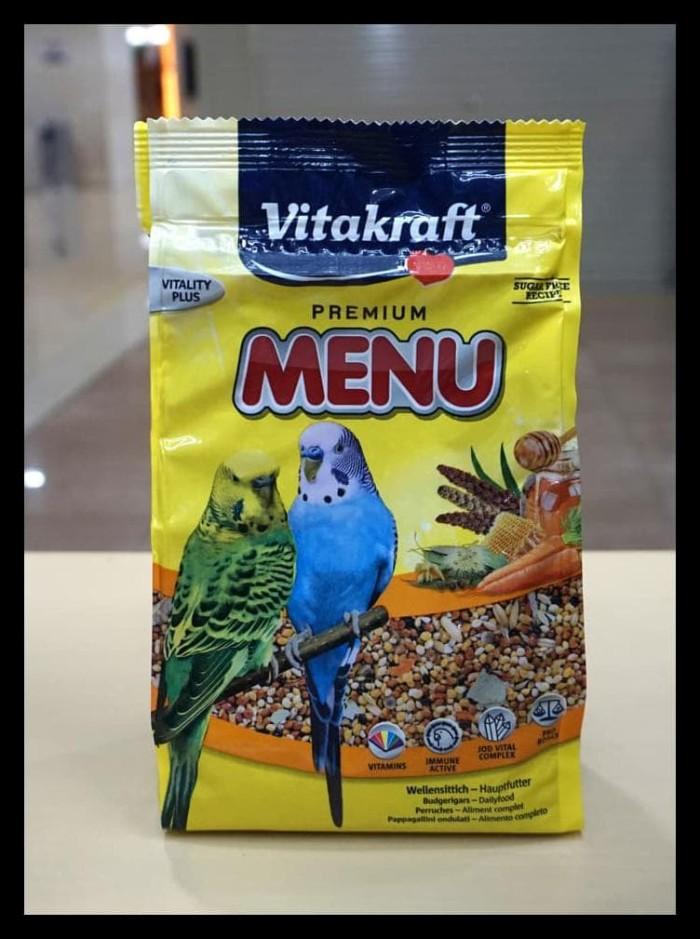 Jual Vitakraft Menu For Budgies 500 Gr Makanan Burung Parkit