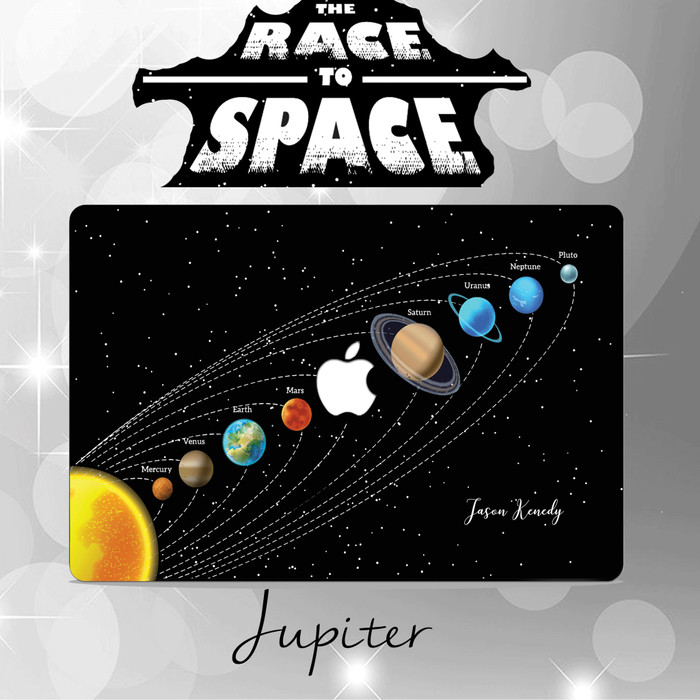 Foto Produk CASE MACBOOK Case CUSTOM JUPITER NEW AIR PRO RETINA 11 12 13 15 INCH dari Macbook.Stuff