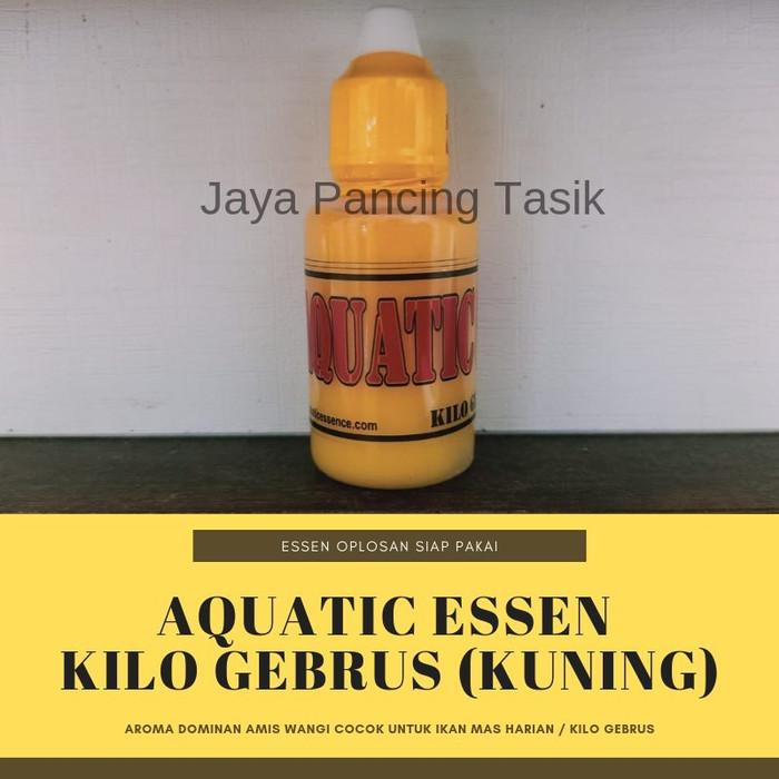 Foto Produk Aquatic Essen Umpan Ikan Mas Kilo Gebrus - Kuning dari Produk Green World Asli