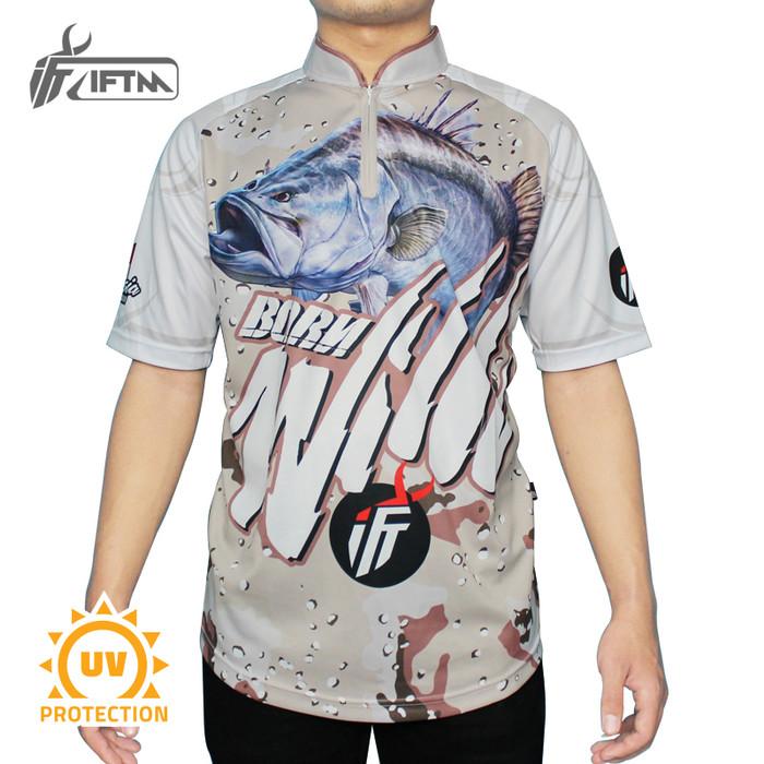 Foto Produk Jersey Mancing IFTM Born Wild (M, L, XL) - Beige, XXL dari IFT Merchandise