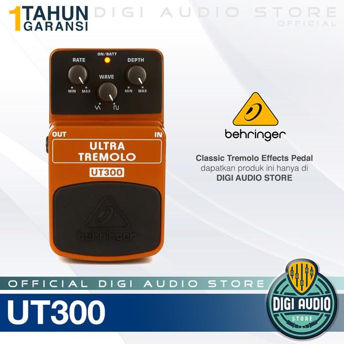harga Behringer ultra tremolo ut300 effects pedal / efek stompbox gitar bass Tokopedia.com