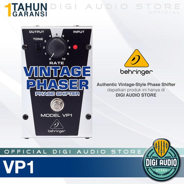 harga Behringer vp1 vintage phaser pedal effect stompbox guitar / efek gitar Tokopedia.com