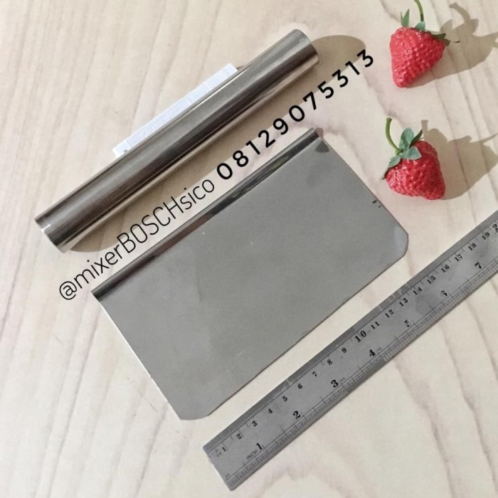 Foto Produk Set Rolling Pin &Scrapper Stainless dari Mixer BOSCH SICO