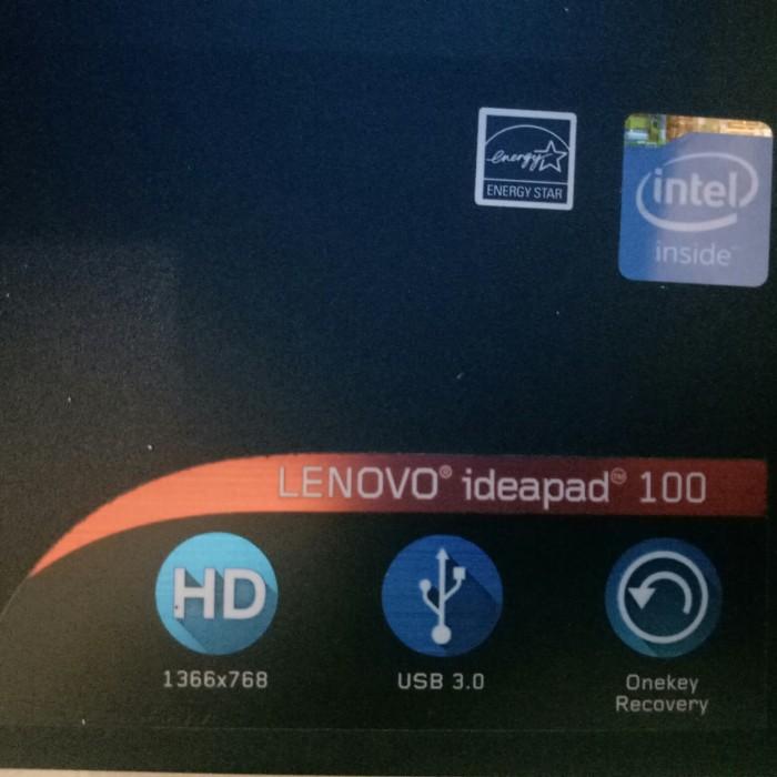Jual Lenovo ideapad 100 intel celeron N2840 second bergaransi - - Jakarta  Barat - TARIGAN COMPUTER   Tokopedia
