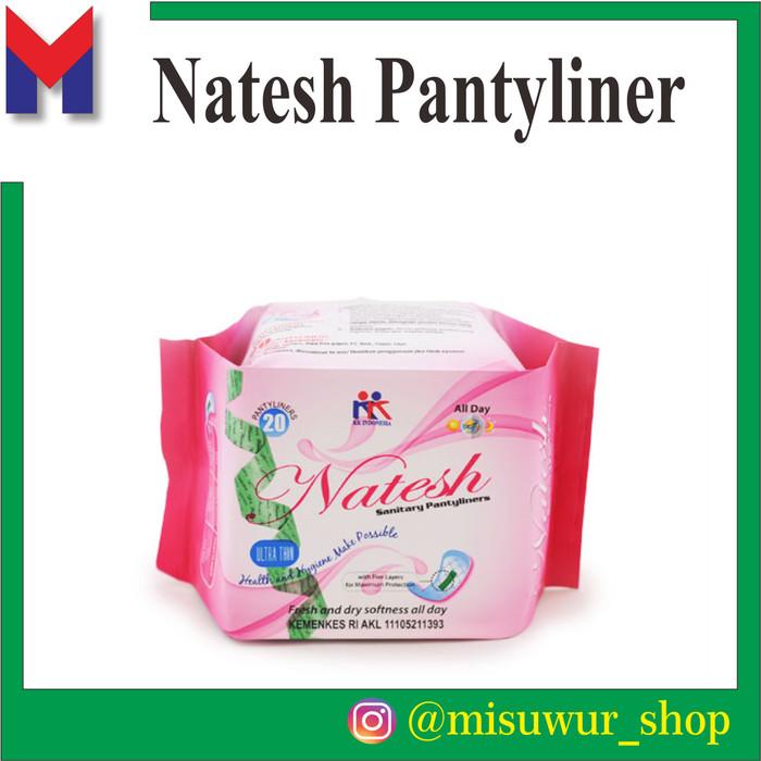 Foto Produk Pembalut NATESH Pantyliner KK Indonesia Original dari Misuwur Shop