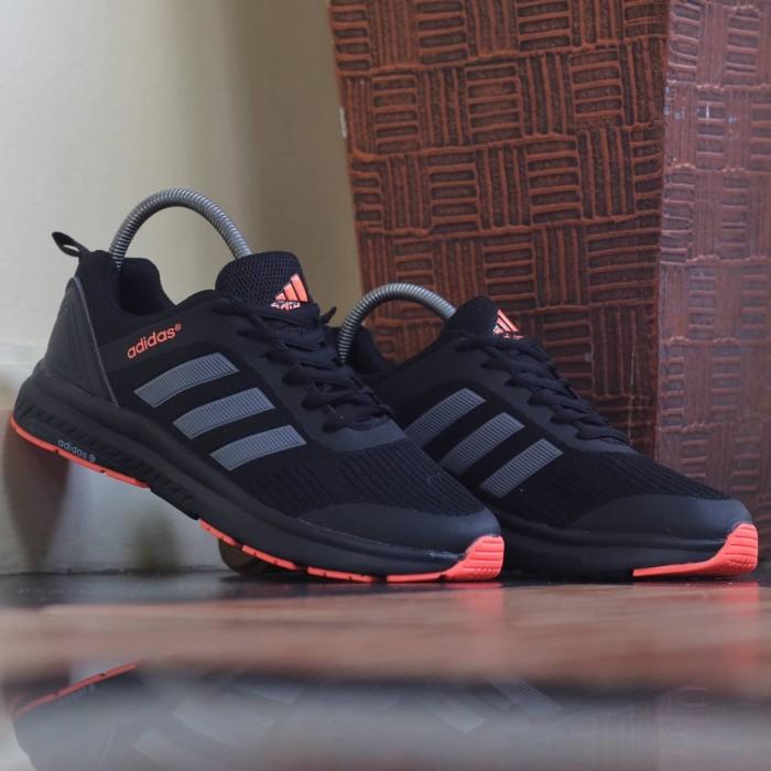 Jual Adidas Climacool Black Orange
