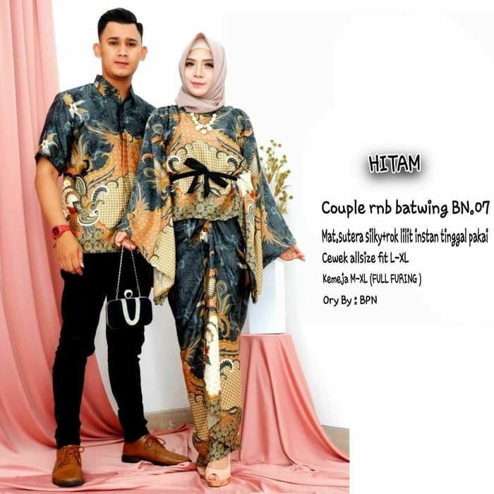 Jual Couple Baju Batik Gamis Semi Sutra Gamis Batik Sarimbit Terbaru 8 Kota Pekalongan Siti Batik Tokopedia