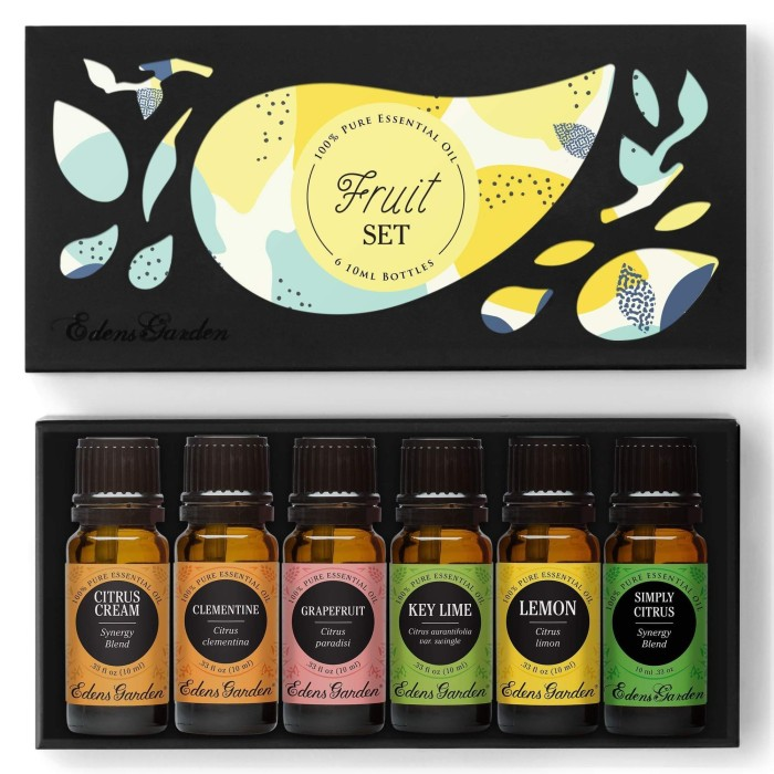 Jual Essential Oil Set Fruit Edens Garden Jakarta Barat Ushop Id Tokopedia