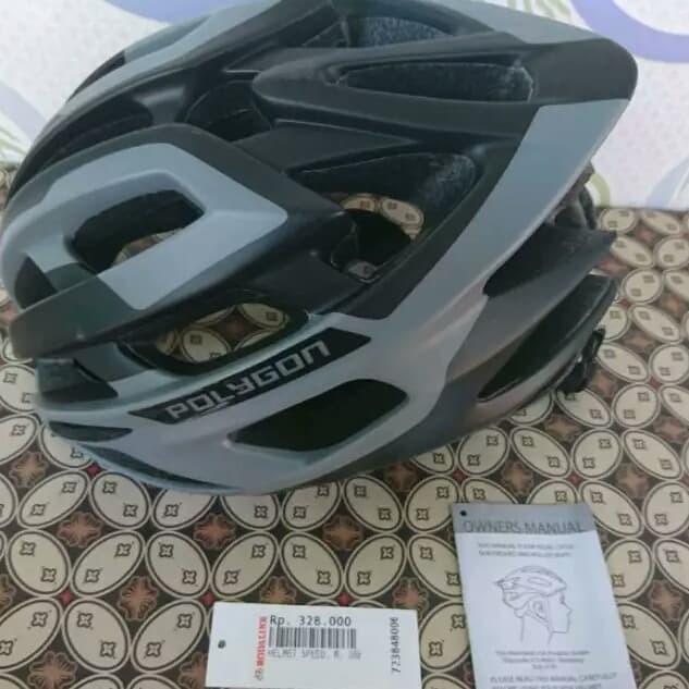 Jual Helm Sepeda Polygon Kota Medan aliandost Tokopedia