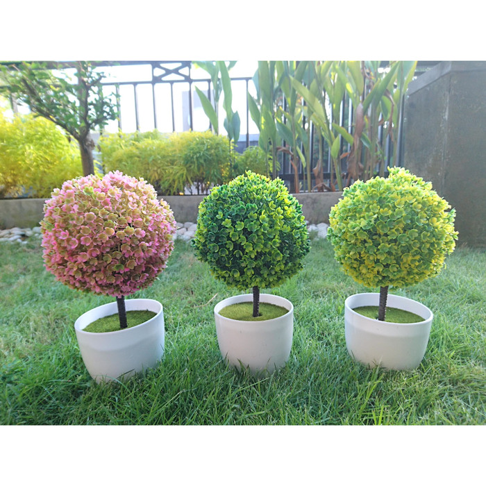 Jual Tanaman Plastik Bentuk Bola Topiary Hiasan Dekorasi Rumah Minimalis Green Kab Bantul Sakhakhi Gallery Tokopedia