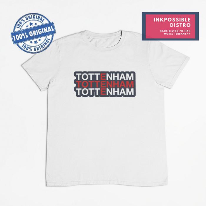 37368af6 Kaos Distro Pria Baju Jersey Club Sepak Bola Tottenham Hotspur Inggris