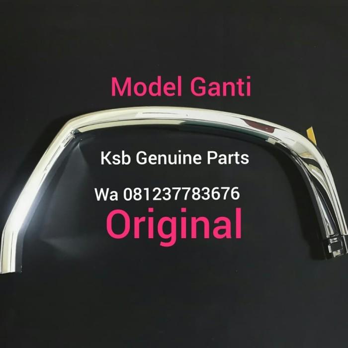 Foto Produk List lis Grill Gril Bumper Depan Daihatsu AYLA kanan / Kiri Krom ASLI dari KSB Genuine Parts