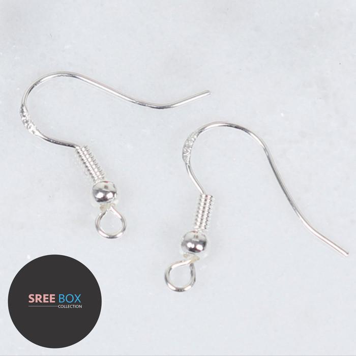 Foto Produk Kait Anting - Earring Hooks - Bahan Anting Gantung - Pengait Anting dari SREE BOX Collection