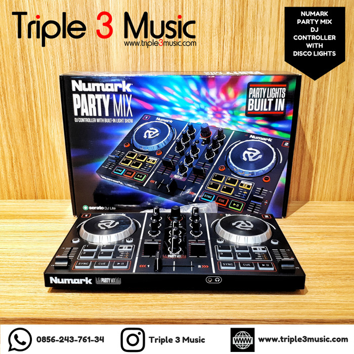 harga Numark party mix partymix dj controller built in interface virtual dj Tokopedia.com