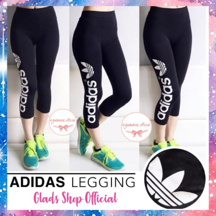 Jual Celana Legging Olahraga Wanita Import Celana Senam Terlaris Putih Jakarta Barat Glads Shop Tokopedia