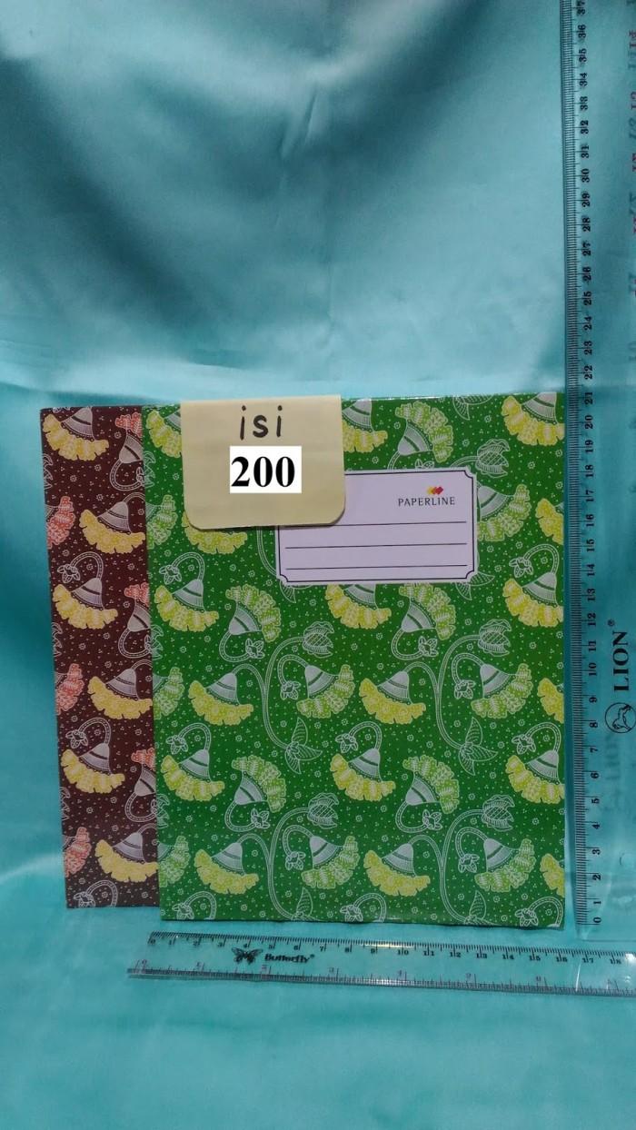 Jual Buku Tulis Cover Tebal 200 Buku Ukuran Kwarto Tebal Ready Bagus 1pack Jakarta Barat Toko ATK 77