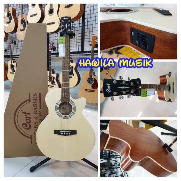 harga Acoustic elektrik akustik gitar cort sfx me op sfxme op ori bonus tas Tokopedia.com