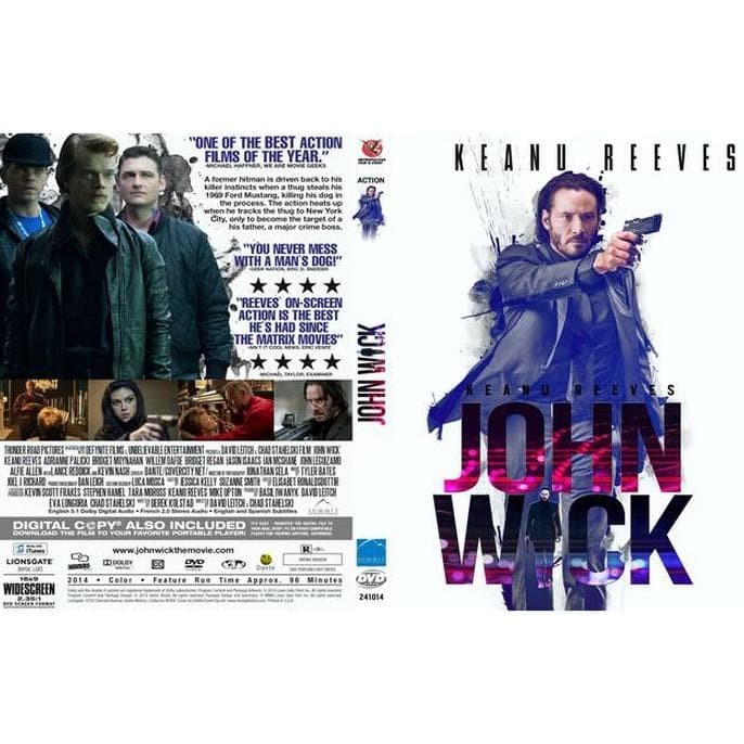 Jual Jual Kaset Dvd Film John Wick Action Sub Indo Lengkap Kualitas Blueray  - Jakarta Pusat - Movie Shop   Tokopedia