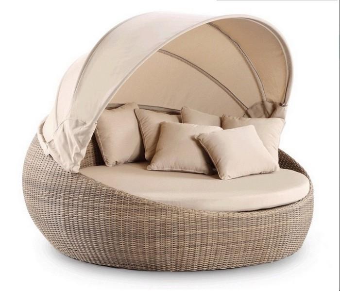 Garden Furniture Wicker Day Bed Outdoor