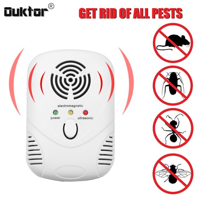 Jual Hot selling Electronic Pest Control Ultrasonic Pest Repeller - Kota  Surabaya - Tukuo_Store | Tokopedia