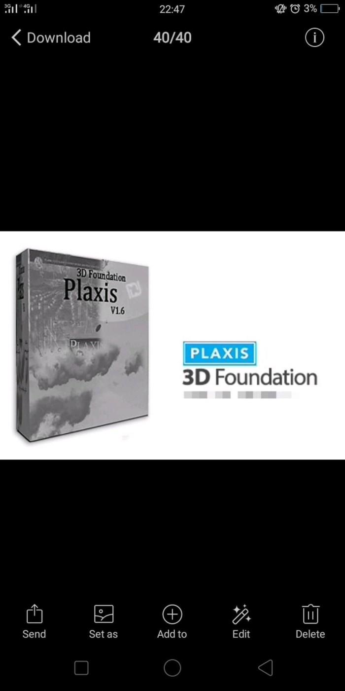 Jual Plaxis 3D Foundation Full Version 1 6 Murah Jakarta Selatan Blue Softwear