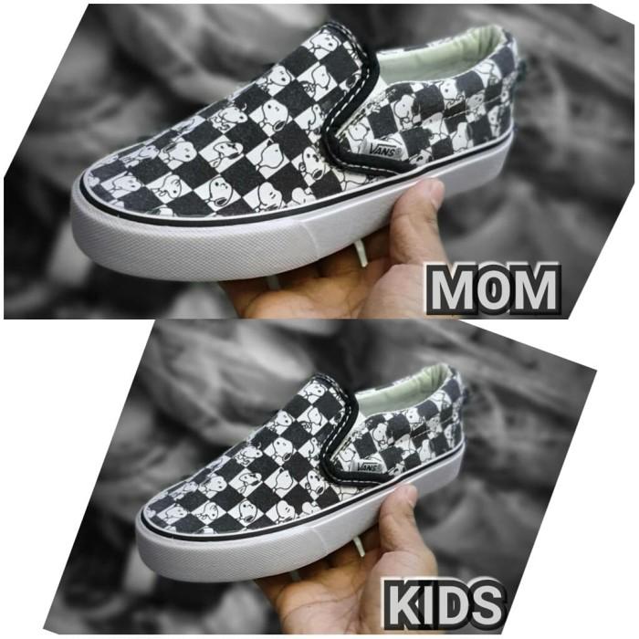 Jual Obral Sepatu Couple Ibu Dan Anak Vans Peanut Snoopy Import