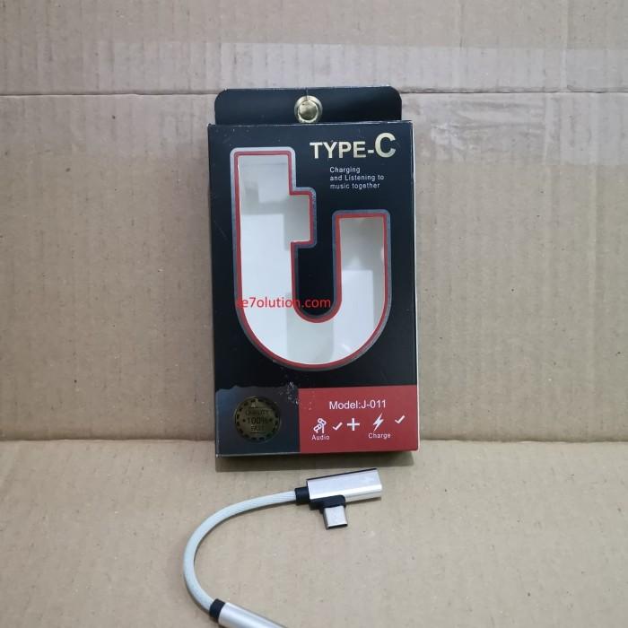 Jual Connector Splitter Charging Type C to Audio Extension - Kota Surabaya  - Se7olution Surabaya | Tokopedia