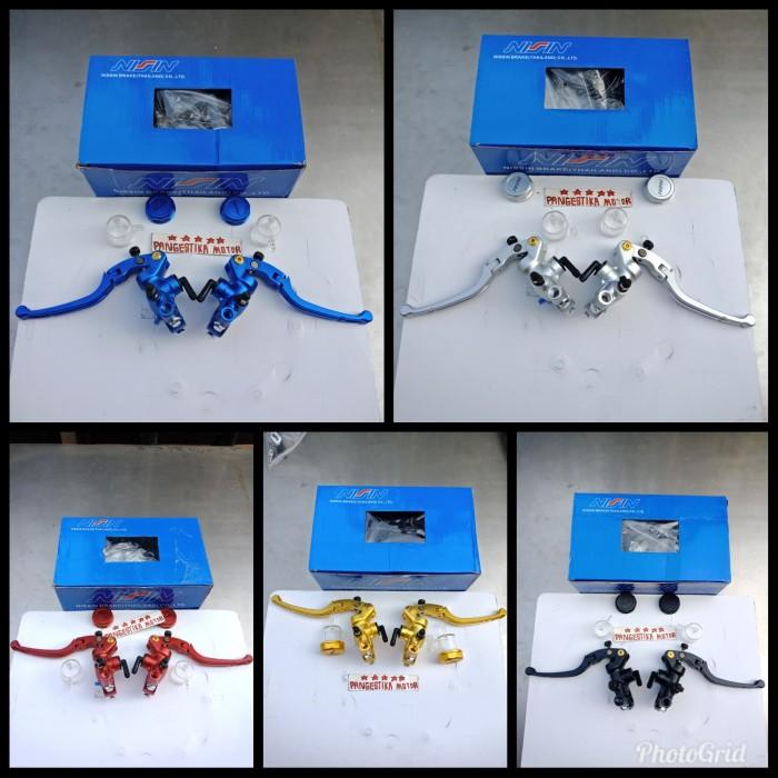 Foto Produk MASTER REM NISSIN HIDROLIK VIXION-NINJA-XABRE-R25-R15 DLL UNIVER dari pangestika motor