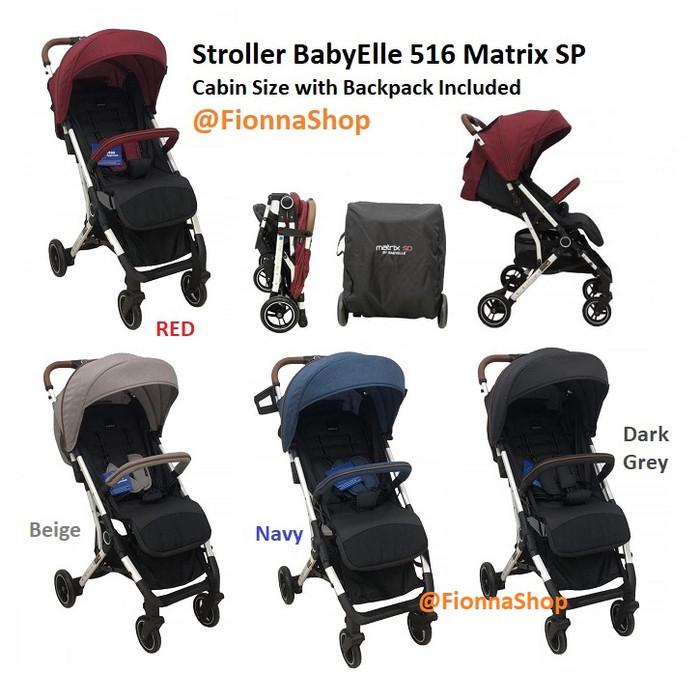 Jual Stroller Baby Elle Kereta Dorong Bayi BabyElle 516 ...