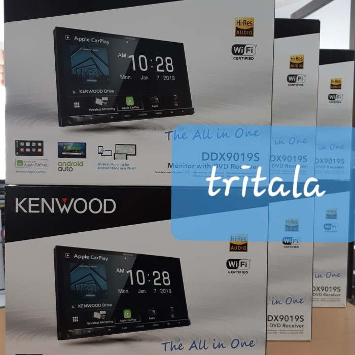 Jual Kenwood DDX9019S double din DDX 9019 Hires wireless carplay mirroring  - DKI Jakarta - tritala | Tokopedia