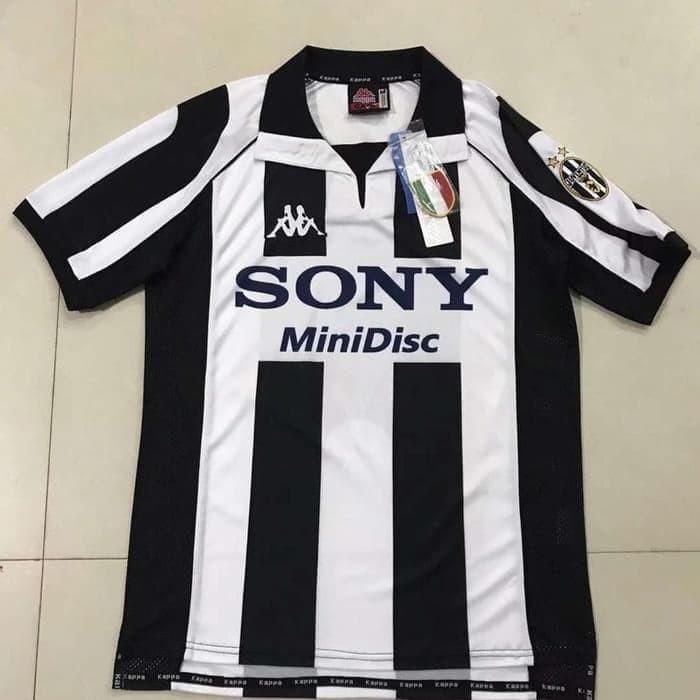 promo code f3b5a 9bd6a Jual Jersey Kaos Baju Bola Juve Juventus Home Retro Classic Klasik Kappa -  Jakarta Pusat - surgasport | Tokopedia