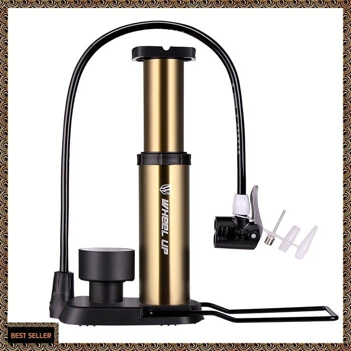 Bicycle Mini Pressure Pump W// Gauge 88psi Fit For Presta Schrader Valve Pump SD