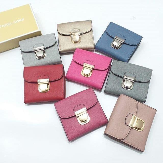 df7c2d467e72 Jual Michael Kors Bridgette Flap Mini Wallet - Pink Fanta ...