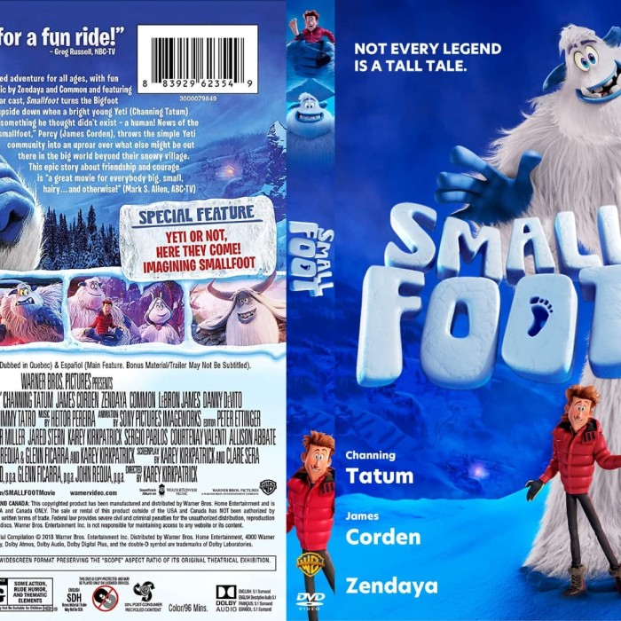 Jual Film Dvd Smallfoot 2018 Movie Collection Film Koleksi Jakarta Barat M Collector Tokopedia