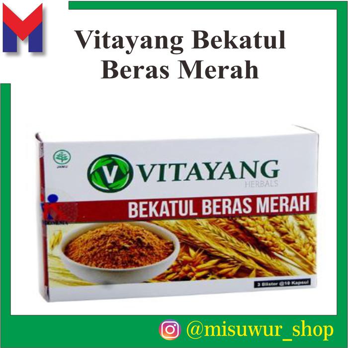 Foto Produk Vitayang Bekatul Beras Merah Kolesterol alami herbal dari Misuwur Shop